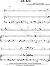 "<b>James Brown</b> ""<b>Night</b> Train"" Sheet Music in Ab Major - Download ..."
