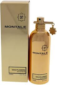 <b>Montale Gold Flowers</b> for Unisex - Eau De Parfum Spray, 3.4 ounces ...