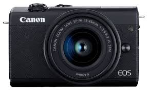 <b>Фотоаппарат Canon EOS M200</b> Kit — 2 цвета — купить по ...