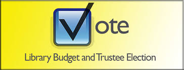 Image result for library budget and trustee vote