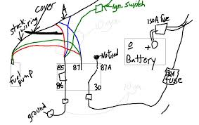 quick 12v fuel pump mod question w diagram zilvia net forums so i want to do this today but want to make sure i do it right