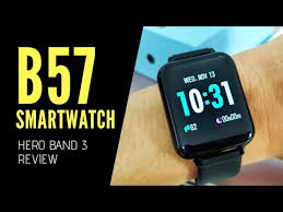 <b>B57</b> Smartwatch Hero <b>Band</b> 3 - Unboxing Review (With Subtitle ...