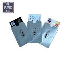 <b>5pcs</b>/<b>lot</b> Outdoor <b>Anti RFID</b> Credit Card Holder Bank Card Case ...