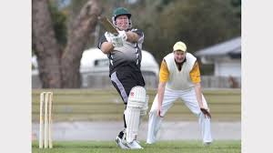 round set to produce even games the advocate run maker natone batsman scott crispin in action last weekend against myalla picture