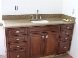 ideas bathroom sinks designer kohler: single undermount kohler bathroom sinks with cream granite tops