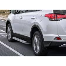 """<b>Пороги</b> алюминиевые """"<b>Bmw</b>-<b>Style</b> овалы"""" <b>Rival</b> для <b>Toyota</b> Rav4 ..."""