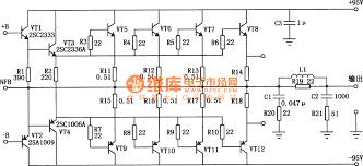 component  power amplifier diagram  mosfet power amplifier circuit    mosfet power amplifier circuit audio circuit diagram circuits     full size