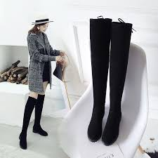 Thigh High Boots Female Winter Boots Women Over the Knee Boots ...