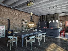 Industrial Style Kitchen Table Industrial Style Kitchen Design Ideas Marvelous Images