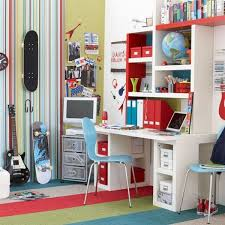 boys bedroom with painted walls and wooden furniture view bedroom ideas teenage guys small