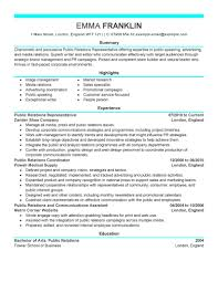 brand manager resume examples  public relations resume examples    public relations resume examples