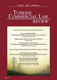 print volume issue the turkish commercial law this issue s cover