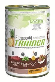 <b>Trainer Fitness3 No</b> Grain Medium/Maxi Adult <b>консервы</b> для собак ...