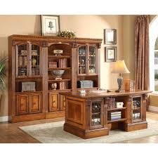 expensive office furniture. parker house huntington executive desk with library wall unit for and u2013 expensive office furniture e