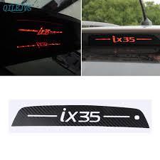 <b>Rear Spoiler Trunk Bumper</b> Brake Light Sticker Carbon Fiber For ...
