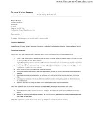 worker for worker worker sample resume for daycare teacher