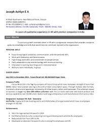 Sample Resume Human Resources   human resource director resume happytom co