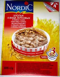 Обзор от покупателя на <b>Хлопья Nordic</b> (<b>Нордик</b>) 4 вида зерновых ...