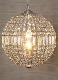 ursula large crystal ball pendant view all lighting bulbs home lighting furniture bhs ball pendant lighting