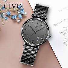 <b>CIVO Fashion</b> Casual <b>Women</b> Watch Ultra thin Waterproof ...