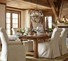 Dining Room Table Pottery Barn Rustic Pottery Barn Kitchen Table Honey Seagrass Chiars 6pc Dining