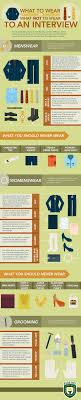 17 best images about job interview infographics what to wear and not wear to an interview infographic