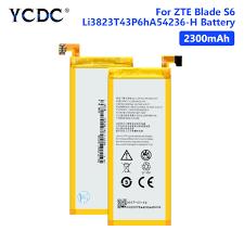 Internal Battery <b>Li3823T43P6hA54236</b>-<b>H</b> Battery For <b>ZTE</b> Blade S6 ...