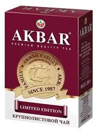 Купить <b>Чай черный Akbar Limited</b> Edition, 200 г по низкой цене с ...