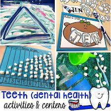 <b>Dental</b> Health <b>Themed</b> Activities and Centers - Pocket of Preschool