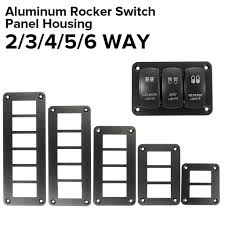 <b>Aluminum Rocker Switch</b> Panel Holder ARB Carling Narva for Car ...