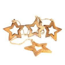 <b>Гирлянда подвесная Wooden</b> Stars, 4 шт. от <b>Enjoyme</b> (арт ...