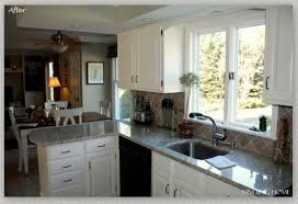 limed oak kitchen units: painted oak kitchen cabinets before and after ideas kitchen ideas design
