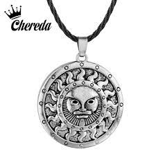 <b>Chereda</b> Egyptian Queen Pendant Antique Silver Slavic Necklaces ...