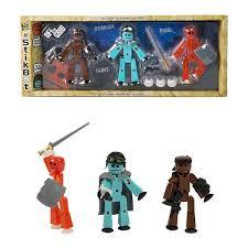 <b>Игровой набор Stikbot</b> 3 фигурки <b>Off</b> the Grid, Striker - TST614S ...