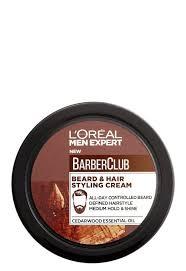 <b>L'Oreal</b> Men Expert Barber Club: <b>Крем стайлинг для</b> бороды и волос