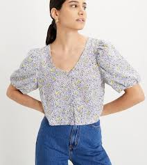 <b>Levi's Holly</b> Floral <b>Blouse</b> – Girl on the Wing