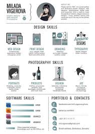 30 examples of creative graphic design resumes infographics resume about me examples