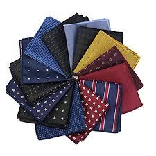<b>Mantieqingway Wholesale Men's</b> Print <b>Pocket Square Handkerchief</b> ...