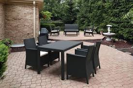 california 5 piece outdoor dining set compamia modern design patio furniture style high quality affordable stylish affordable outdoor furniture