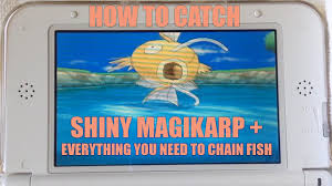 How to Catch Shiny <b>Magikarp in</b> Pokemon X Y! + COMPLETE Chain ...