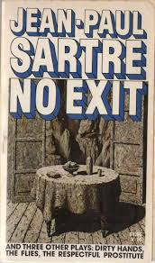 images about jean paul sartre literatura no exit and three other plays dirty hands the flies the respectful prostitute