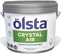<b>Olsta Crystal</b> Air / Ольста Кристал Аир <b>краска</b> для интерьера ...