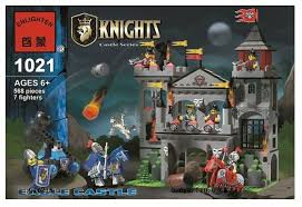 Купить <b>Конструктор</b> Qman <b>Knights</b> 1021 Замок Орла по низкой ...