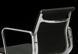 classy arched aluminum instead of a mechanism the aluminum chair ea 108 features only a swivel function aluminium chair ea 108