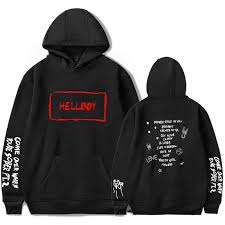 <b>Lil Peep HEllBOY Hoodie</b> Adult HEllBOY Hooded Sweatshirts ...
