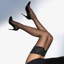 <b>Women Hot</b> Sexy <b>1 Pair</b> Bow Suspenders Pantyhose Thigh High ...