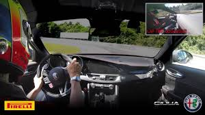 <b>Alfa Romeo</b>   Giulia Quadrifoglio - New Record at Nürburgring