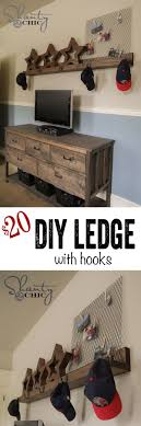 ideas wall shelf hooks: diy wall shelf with hooks easy and so practical love it