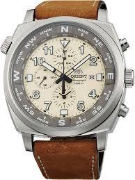<b>Мужские</b> японские наручные <b>часы Orient</b> TT17005Y с хронографом