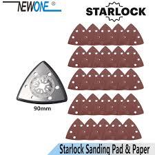 <b>NEWONE Starlock</b> Triangular Polish Saw <b>Blades</b> and Sandpaper ...
